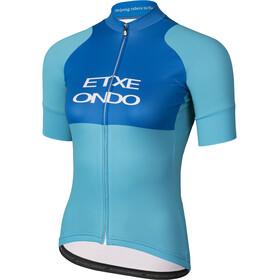 Etxeondo Ona Training Fietsshirt korte mouwen Dames blauw/turquoise